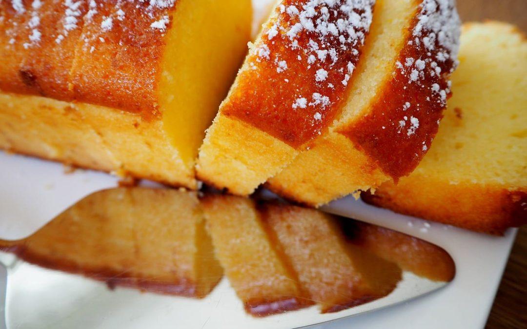 Gâteau au citron allégé